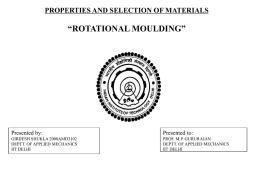 ROTATIONAL MOULDING - Welcome to AML 883