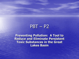 PBT – P2 - Great Lakes Information Network