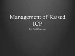 Management of raised ICP - Surgical Students Society of