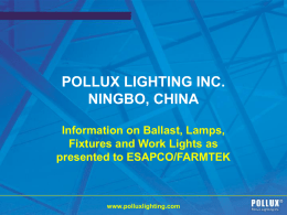 Pollux Lighting