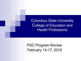 Columbus State University College of Education