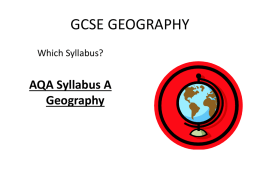 GCSE GEOGRAPHY - Amazon Web Services