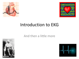 Introduction to EKG - 3rd Year Medicine Clerkship