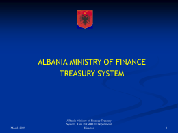 Anni DASHO MOF Treasury Presentation