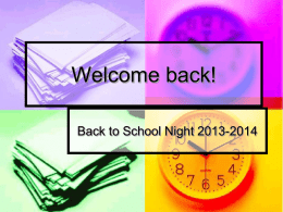 Welcome back! - Del Mar Union School District