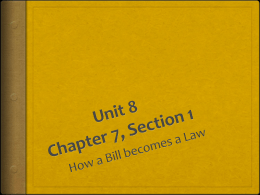 Unit 8 Chapter 7, Section 1
