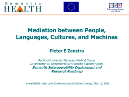 Mediation between People, Languages, Cultures, and