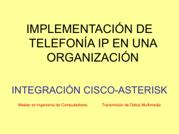 CARACTERISTICAS CISCO CALL MANAGER