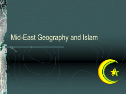 Mid-East Geography