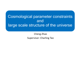 Cosmological parameter constraints