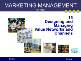 KotlerMM_ch15 - BLOG OF MANAGEMENT SCIENCE (BMS)