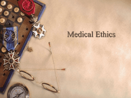 Medical Ethics Board Review