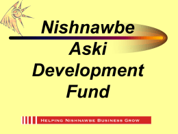 Nishnawbe Aski Development Fund