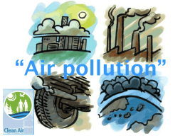 Air pollution""