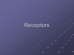Receptors - Southeast Missouri State University