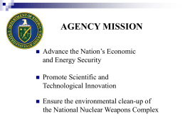 U.S. Department of Energy - FLC Mid