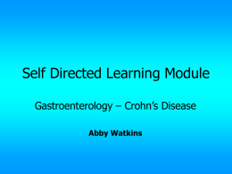 Self Directed Learning Module - Ibaden