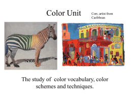 Color Unit - Renee's Home Page