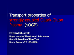 Toward the theory of strongly coupled Quark