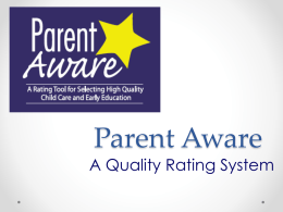 Parent Aware - Minnesota State University,