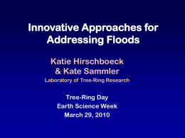 Flood Hydroclimatology and Its Applications in Western