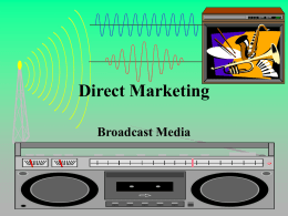 Direct Marketing Media