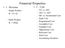 Financial Properties - St. John's University