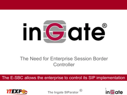 Ingate Systems AB