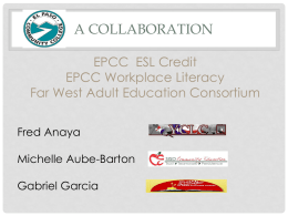 Far West Adult Education Consortium