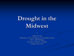 Drought in the Midwest - University of Missouri