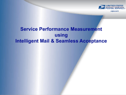Service Performance Management