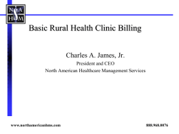 What is a Rural Health Clinic?
