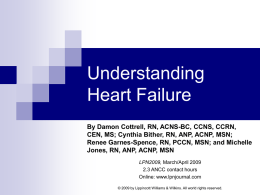Understanding Heart Failure