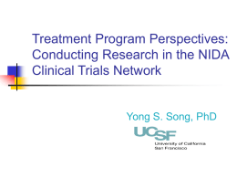 Treatment Program Perspectives: Conducting HIV/AIDS