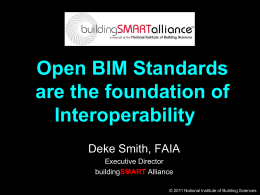 Open BIM Interoperability