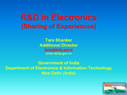 R&D in Electronics Group