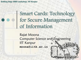 Smartcards: An Introduction
