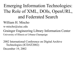 Emerging Information Technologies: The Impact on Academic