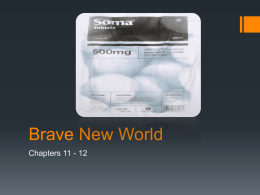 Brave New World - Clarkstown Central School District
