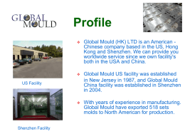 ABOUT US - Global Mould