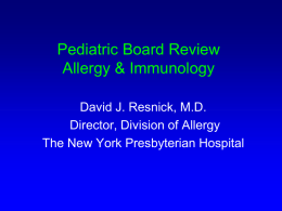 Asthma Therapy for 2006 - American Academy of Pediatrics