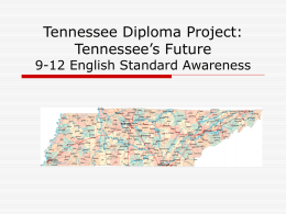 Tennessee Diploma Project: Tennessee's Future
