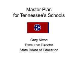 The Tennessee Diploma Project