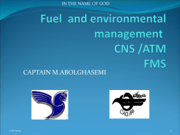 FUEL AND ENVIRONMENTAL MANAGEMENT