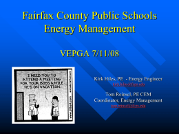 FCPS Energy Management