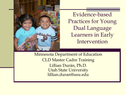 Can children with developmental disabilities learn more