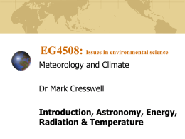 EG1104: Earth Systems