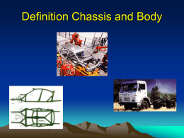 Definition Chassis and Body