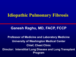 Current Treatment Options for Idiopathic Pulmonary Fibrosis: