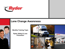 Training Title - Ryder Fleet Products